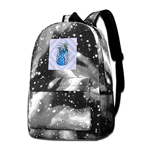 - Jiadeyuan Electronic Techno Pineapple School BagSuitable ForWomanforTravel