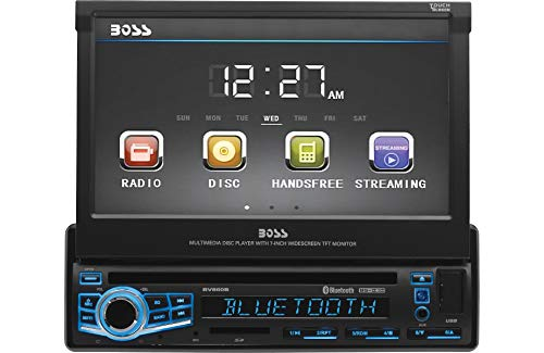 BOSS Audio Elite BV860B Single Din, 7
