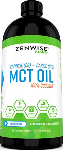 Natural Coconut MCT Oil Supplement product image