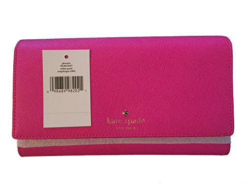 Kate Spade New York Mikas Pond Phoenix Tri-fold Wallet (Vivid Snapdragon) by Kate Spade New York