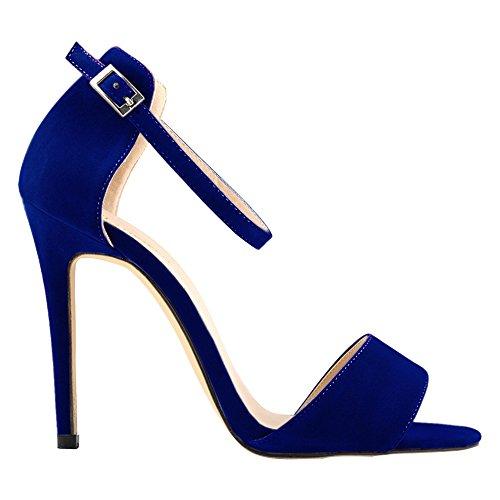 DULEE - Zapatos con tacón mujer Azul