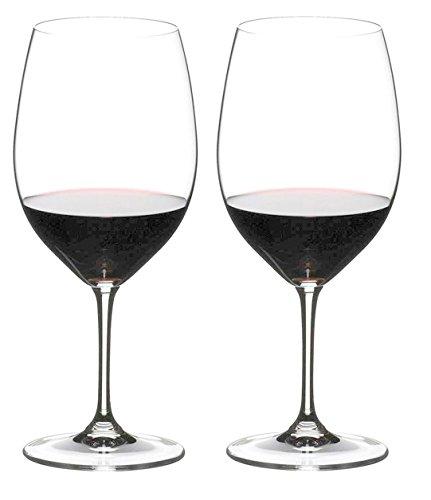 Riedel VINUM Bordeaux Glasses, Set of 2 (Bordeaux Glass Set)