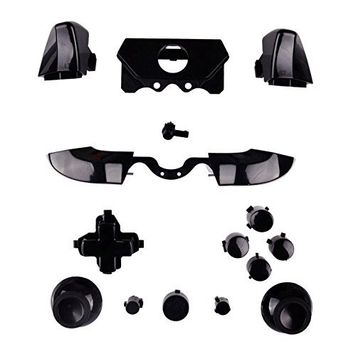 SN-RIGGOR Replacement Black Full Button Set +T8 T6