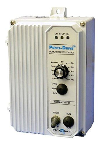 KB Electronics, 9342, KBPC-240D (White), 0-90/0-180VDC, 1/2 HP, Nema 4X, DC Drive