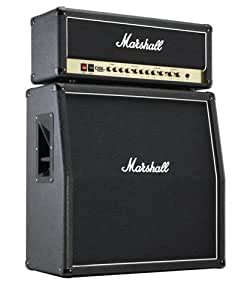 marshall dsl100h half stack 100 watt guitar amplifier head with mx412a 4x12 angled. Black Bedroom Furniture Sets. Home Design Ideas