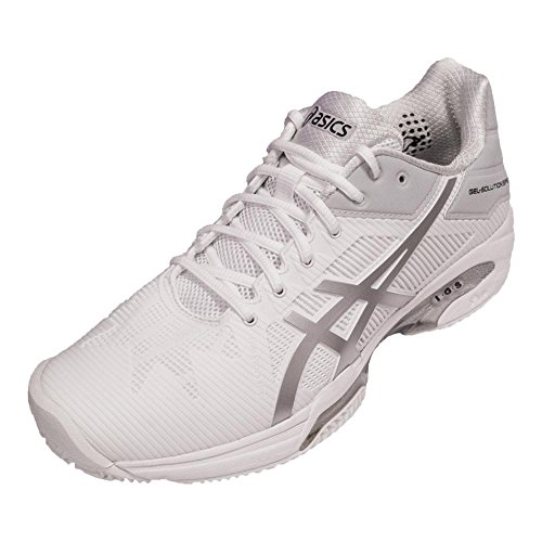 ASICS Herren Gel-Solution Speed ​�? Clay Tennisschuh Weißsilber