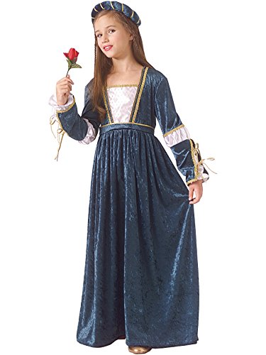 Rubie's Child Juliet Renaissance/Princess Costume, White, Medium]()