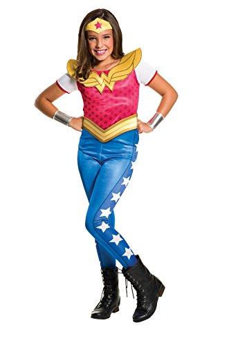 Rubie's Costume Kids DC Superhero Girls Wonder Woman Costume, Medium (I M A Super Hero Costume)
