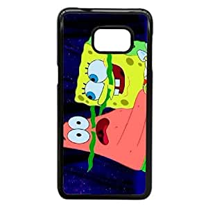 Personalized Durable Cases Samsung Galaxy S6 Edge Plus Cell Phone Case Black Iyvsz Movie Spongebob Protection Cover