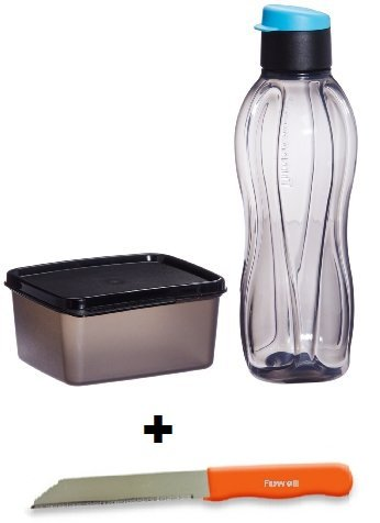 Tupperware Xtreme Set (Eco Flip Top botella de agua con tapa ...