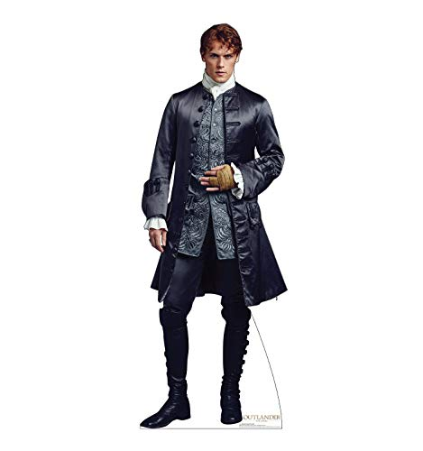 Advanced Graphics Jamie Fraser Life Size Cardboard Cutout Standup - French Version - Starz -