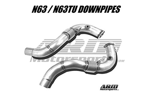 OBX Performance Exhaust Turbo Downpipe 11-19 BMW M5 F10 12-19 M6 F12 F13 F06 S63B44T0 3.0 Twin downpipes