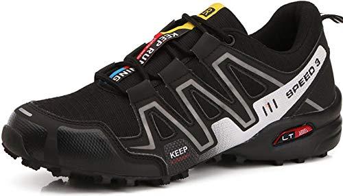 Chaussures l Plein de de Sport Randonnée Black Air Hommes Léger Chaussures de pour Respirant OECwY