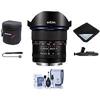 Venus Laowa 12mm f/2.8 Zero-D Ultra-WideAngle Lens for Nikon AI Cameras - Bundle With Lens Case, Lens Wrap, Cleaning Kit, Capleash II, Lenspen Lens Cleaner