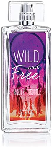 Wild and Free Amber Sundance Hydrating Hair & Body Perfume by Tru Fragrance & Beauty - Bergamot, Coconut, Sandalwood, Cedar, Vanilla, Musk, Amber - 3.4 oz