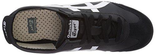 Asics - Zapatos unisex Negro / Blanco