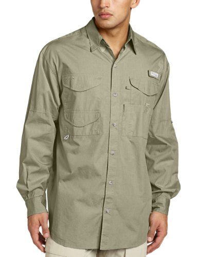 Columbia Men's Bonehead Long Sleeve Shirt Tall,SAGE, - Xxxx India