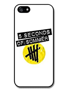 5 Seconds Of Summer Boyband Yellow Logo case for iPhone 5 5S