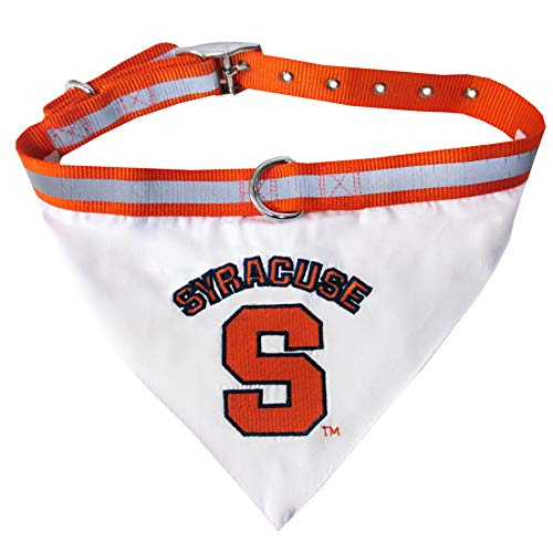 - Pets First Collegiate Pet Accessories, Collar Bandana, Syracuse Orange, Large