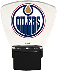 Authentic Street Signs 85311 NHL Edmonton Oilers LED Nightlight, Clear, One Size