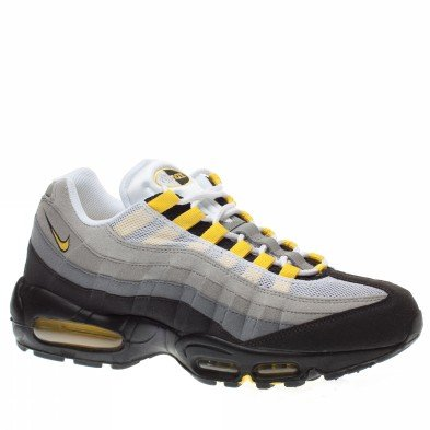 2e5426de0530e Nike Air Max 95 Mens Running Shoes [609048-105] White/Tour Yellow-Medium  Grey Mens Shoes 609048-105-8.5 - Buy Online in UAE. | Apparel Products in  the UAE ...