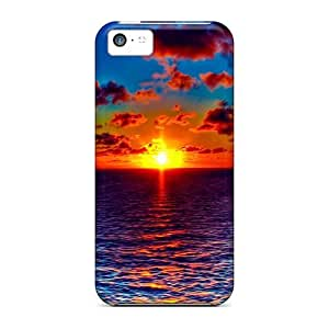 New Cute Funny Most Beautiful Sunrise Hdr Case Cover/ Iphone 5c Case Cover