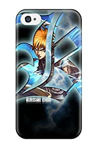 Durable Defender Case For Iphone 4/4s Tpu Cover(bleach)