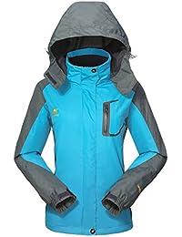 Waterproof Jacket Rain Coats for Women -GIVBRO Outdoor Hooded Softshell Camping Hiking Mountaineer Travel Windproof Jackets