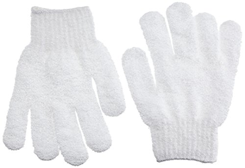 Beautytime Exfoliating Bath Gloves - Pack of 2