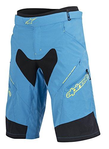 Alpinestars Men's Drop 2 Shorts, Bright Blue/Acid Yellow, Size 28