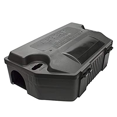 LIPHA TECH Aegis RP Rat Bait Station | Professional Grade Rodent Control Solution for Residential or Commercial | Highly Effective for Rats, Mice, and Other Rodents