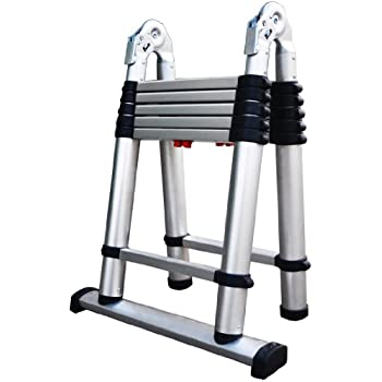 Amazon Com Xtend Amp Climb 785p Aluminum Telescoping Ladder