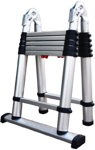 Telesteps 612TC OSHA Compliant 6 ft A-frame/12 ft Extension Telescoping Combi Ladder ()