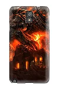 Durable Defender Case For Galaxy Note 3 Tpu Cover(wow Widescreen )