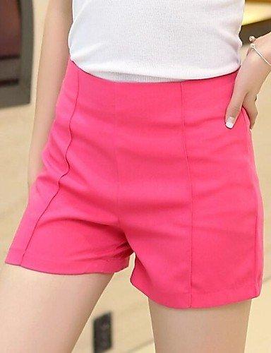 TT&KUZI Moda Scarni Pantaloni di Colore Solido delle Donne, m