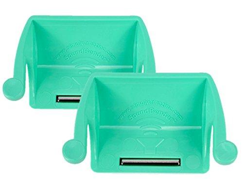 2-pack-soundbender-easy-fit-magnetic-sound-enhancer-for-ipad-2-3-4-as-seen-on-shark-tank-green