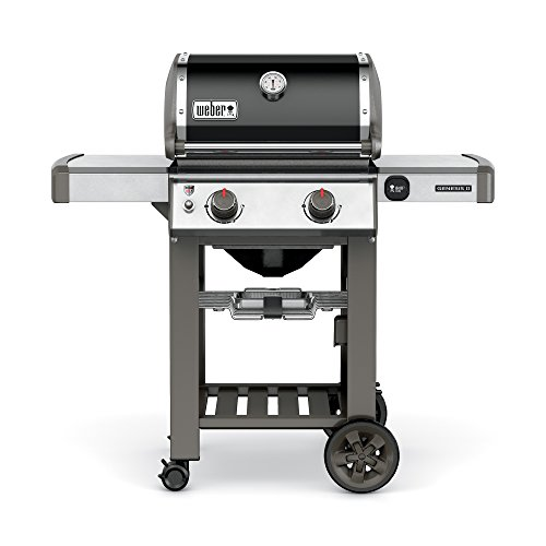 Weber 65010001 Genesis II E-210 Natural Gas Grill, Black