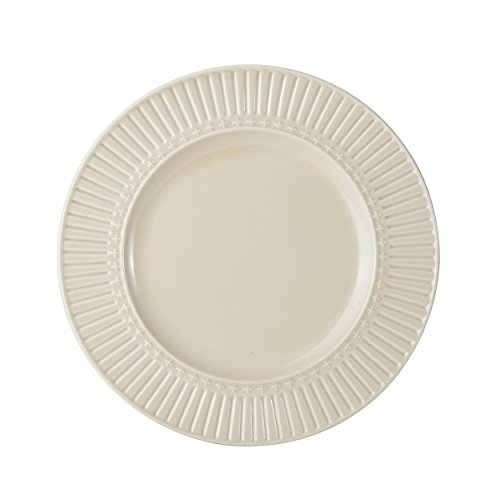Mikasa Italian Countryside Accents Salad Plate, Fluted Beige