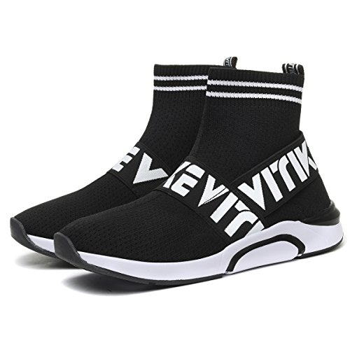 Elaphurus black Ladies Shoes Air 2 Bubble Girls Sports Jogging Sneaker Trainers Running Trainers Running Women's HUxw4rRH