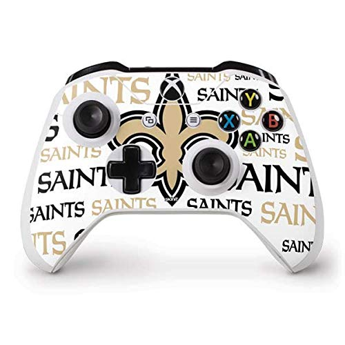 New Saints Orleans Controller (Skinit New Orleans Saints Gold Blast Xbox One S Controller Skin - Officially Licensed NFL Gaming Decal - Ultra Thin, Lightweight Vinyl Decal Protection)