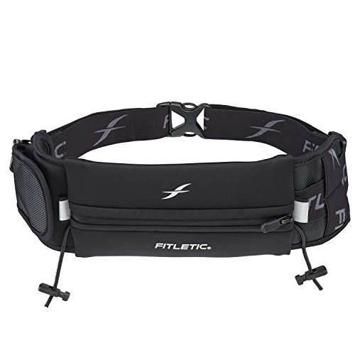 Fitletic Running Belt - Black Sport Belt
