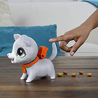 furReal Poopalots Lil' Wags Interactive Pet Toy, Connectible Leash System, Ages 4 and Up: Toys & Games