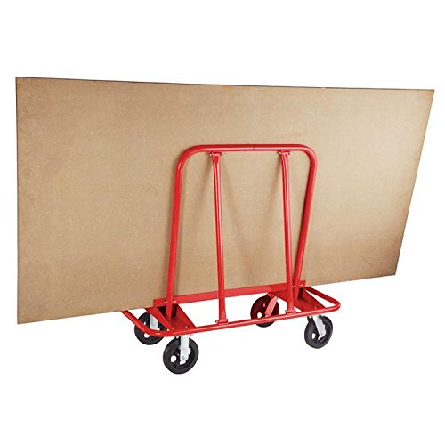 Yaheetech Heavy Duty Safety & Multifunctional Drywall Sheet Cart with Two Fixed and Two Swivel Casters