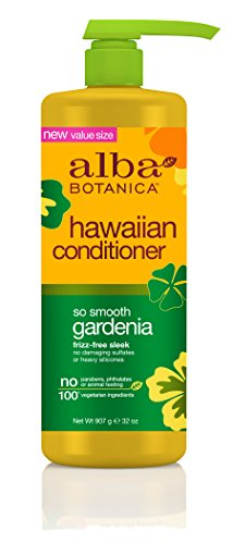 Alba Botanica Conditioner (Alba Botanica Hawaiian Conditioner, Gardenia, 32 Ounce)