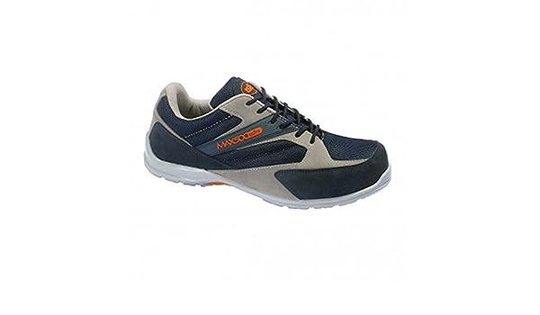 Zapato de seguridad ligero y flexible con puntera de seguridad en composite (46): Amazon.es: Zapatos y complementos