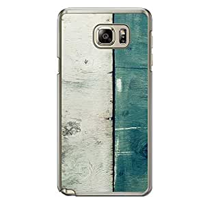 Loud Universe Samsung Galaxy Note 5 Madala N Marble A Wood 6 Printed Transparent Edge Case - Multi Color