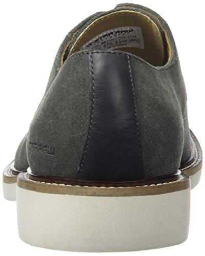 G-Star Raw MORTON DERBY - Zapatillas para hombre Gris (Bakelite 1159)
