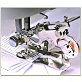 HONEYSEW Ruffler Foot For Singer Brother Juki Low Shank Sewing Machine (3 style)
