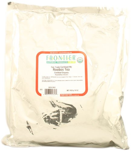 Frontier Natural Products Organic Rooibos Tea -- 16 oz