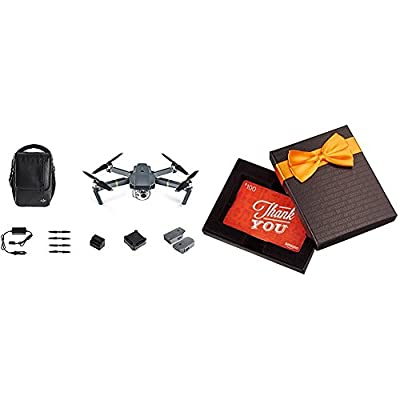 DJI Mavic Pro Fly More Bundle with $100 Amazon Gift Card